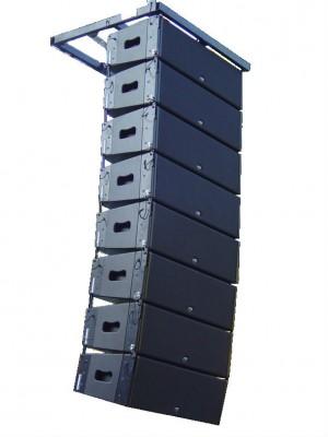 Line array para sonorizar exteriores