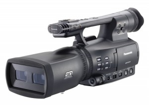 CAMARA VIDEO 3D PANASONIC AG-3DA1