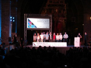 Entrega de Premios de la Fiesta de la Vela