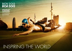 Inauguración Mundiales de Natación Barcelona 2013
