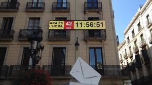 Marcador 9-N Plaça Sant Jaume