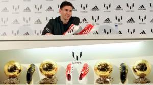 Presentación línea de ropa de Messi con Adidas