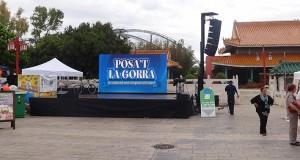 """Posa't la Gorra"" en Port Aventura"