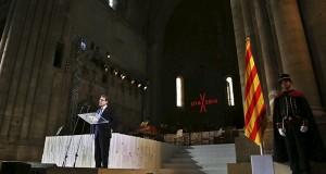 Acto inaugural de la conmemoración del Tricentenari de 1714 en Cataluña